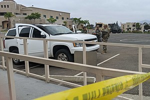 Photo for 200 National Guard Troops Deployed In San Diego County To Protect Buildings
