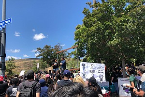 Photo for Ninth Day Of Protests Ends With Several Demonstrations Across San Diego County