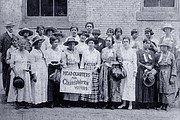 Headquarters for Colored Women Voters. Chicago, Ill, 1916.