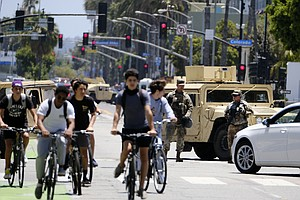 Photo for National Guard To Begin Leaving California Cities