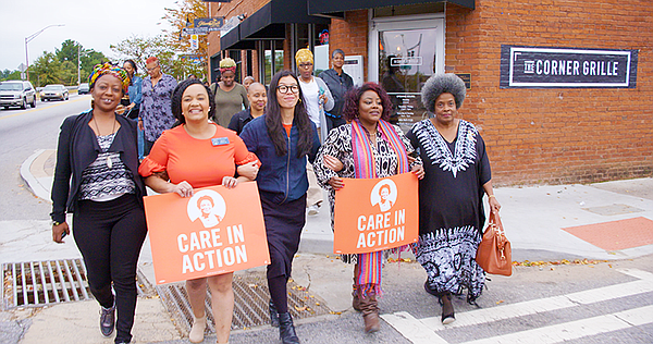 Members of Care in Action, a nonprofit, nonpartisan group...