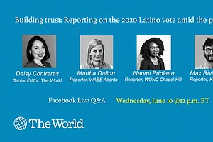 Photo for Discussion: Reporting On The 2020 Latino Vote Amid The Pandemic