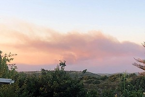 Photo for Wildfires Char Thousands Of Acres At Camp Pendleton