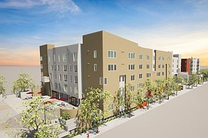 Photo for Groundbreaking Held For Mid-City Area Intergenerational Apartments