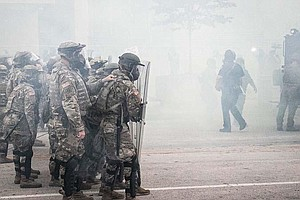 Photo for Some National Guard Members Are Likely To Face Discipline After Refusing To D...