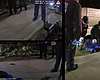 Footage from body cameras and from a passerby o...