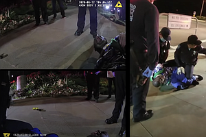 Photo for Carlsbad Police Release Video Of Black Man Tasered During Confrontation