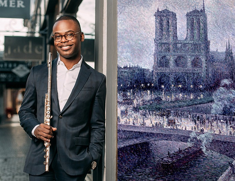 Flutist Demarre McGill will perform Debussy's
