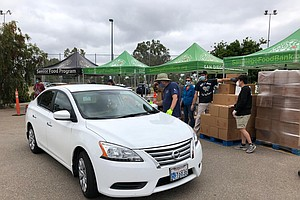 Photo for San Diego Food Bank Estimates Nearly 1 Million County Residents Struggle With...