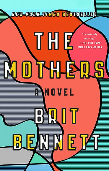 The book cover for the paperback edition of 'The Mothers'...