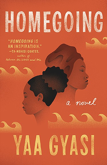 The book cover for the paperback edition of 'Homegoing' b...