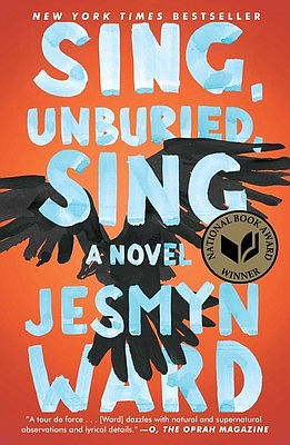 The book cover for the 'Sing, Unburied, Sing' by Jesmyn W...