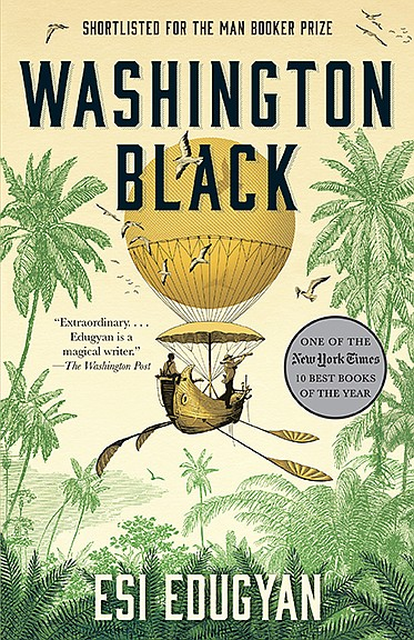 The book cover for the paperback edition of 'Washington B...