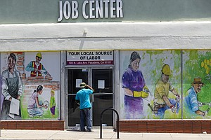 Photo for California Jobless Rate 16.3% In May, Down A Bit From April