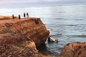 Photo for Dad Pleads Not Guilty To Charges Of Driving Off Cliff With Toddler Daughters