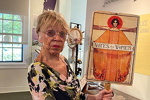 Photo for Determined San Diego Women Fought For Right To Vote A Century Ago