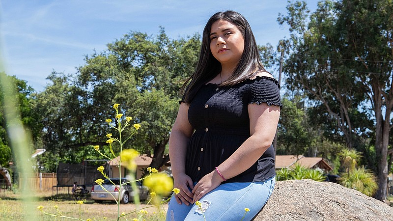 Marlene Herrera, an 18-year-old currently living in Mission Center, says the ...