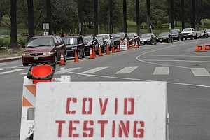 Photo for California Health Officials Fret About Mix Of COVID, Flu