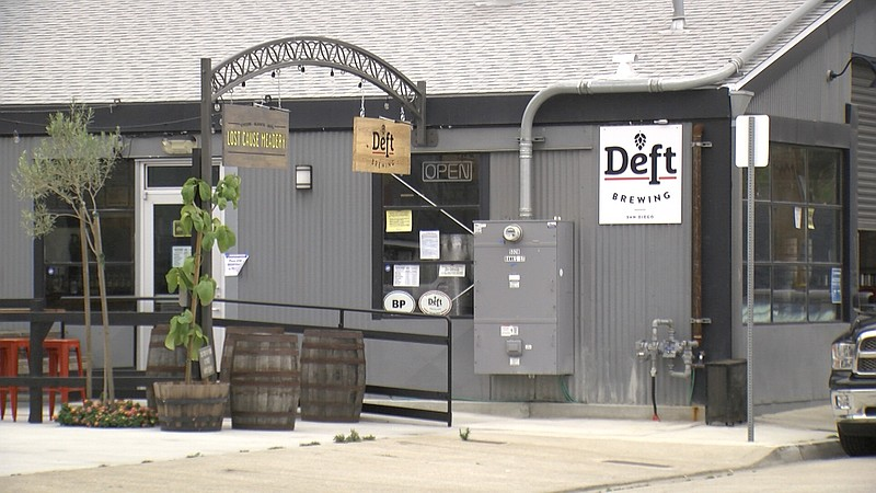 Deft Brewing in Bay Park, June 30, 2020.