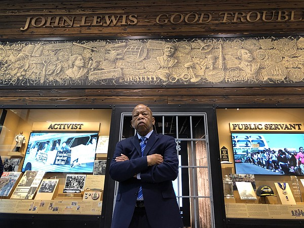 Congressman John Lewis is the subject of the new document...