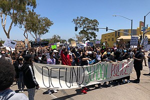 Photo for San Diego Students March To Get Police Out Of Schools