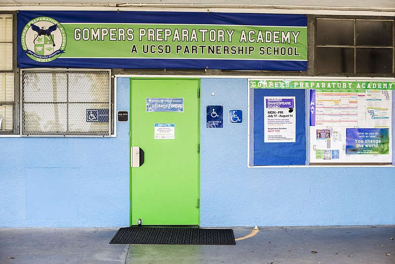 Gompers Preparatory Academy, a public charter school in Southeast San Diego, ...