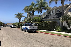 Photo for Curb In La Jolla Illegally Painted Red To Deter Beach Parkers