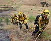 Cal Fire firefighters train at Camp Pendleton F...