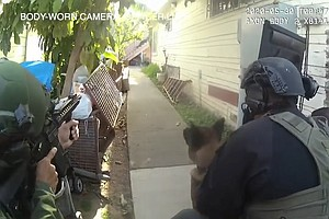 Photo for SDPD Releases Video Of Fatal May City Heights Police Shooting