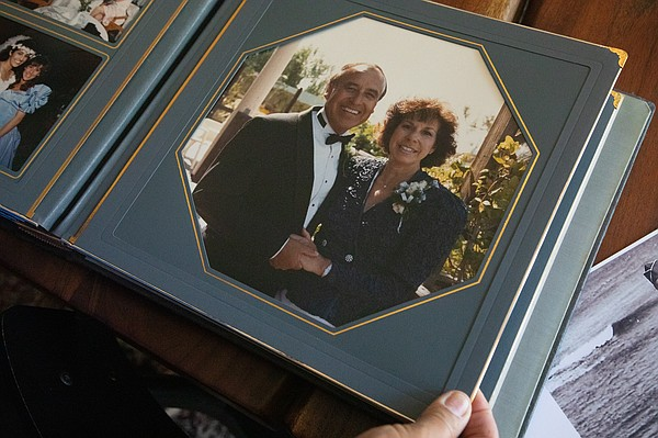 Joe Villegas is shown with his wife, Beatriz, in a photo ...