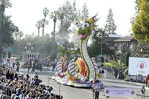 Photo for Rose Parade Scrubbed Due To Continuing Coronavirus Pandemic