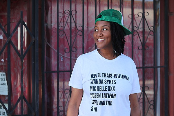 San Diego playwright, performer and rapper Miki Vale laun...