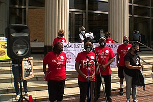 Photo for Racial Justice Group Says District Attorney Must Prosecute Police Abuse Or Re...