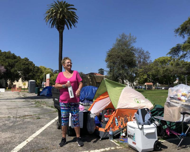A New Strategy For Veteran Homelessness: A Tent Camp ...