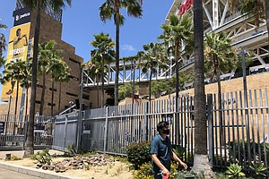Photo for Padres Win Season Opener At Fan-Less Petco Park
