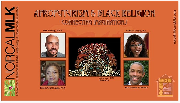 Panel on AfroFuturism and Black Religion was part of Comi...