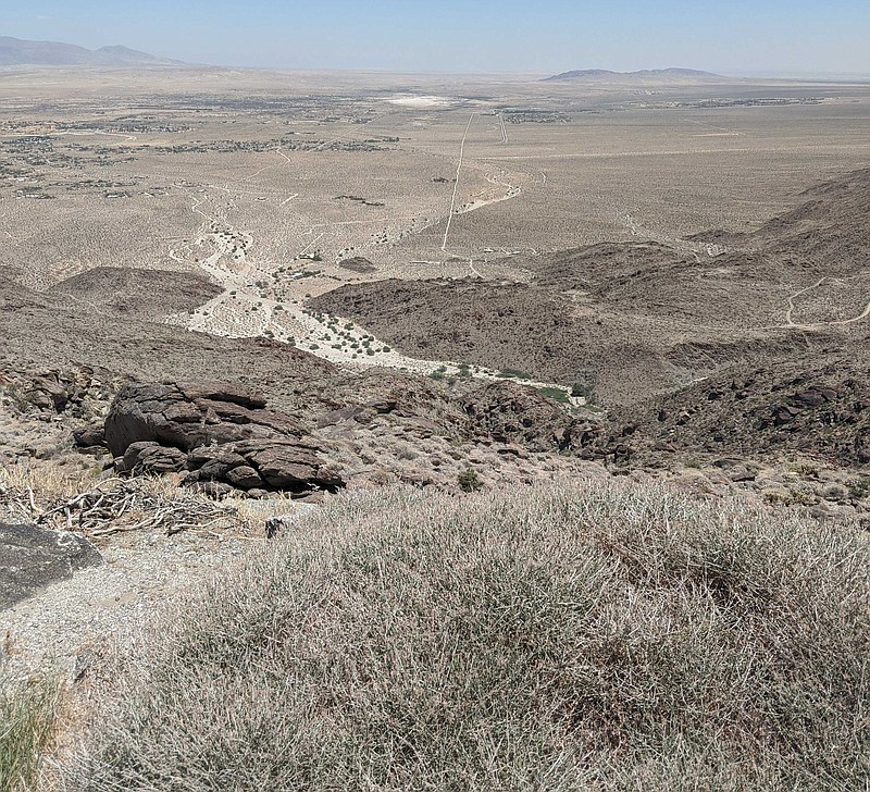 The Anza-Borrego Desert State Park is pictured in this photo, June 19, 2020.