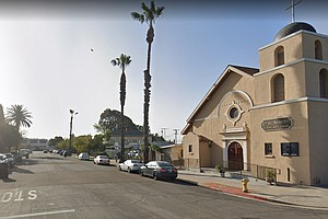 Photo for Tensions Between Logan Heights Residents Outside Church-Goers Rooted In Cultu...
