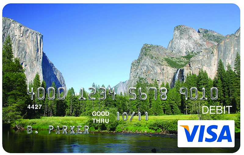 A sample of a California EDD Debit Card from Bank of America is pictured in t...