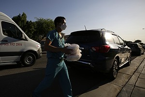 Photo for Virus Ravages Poor California County Along Mexican Border
