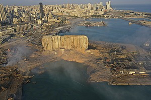 Photo for San Diegans React: Beirut Explosion Hits Close To Home