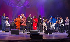 The cast of the 2017 International Jazz Day All...
