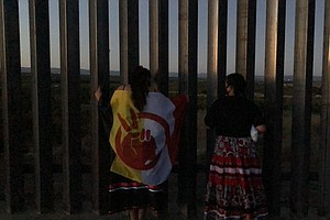 Young Kumeyaay Women Lead Protests Against Border Wall