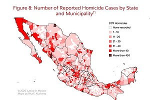 Report: Homicides In Mexico Hit A New Record In 2019