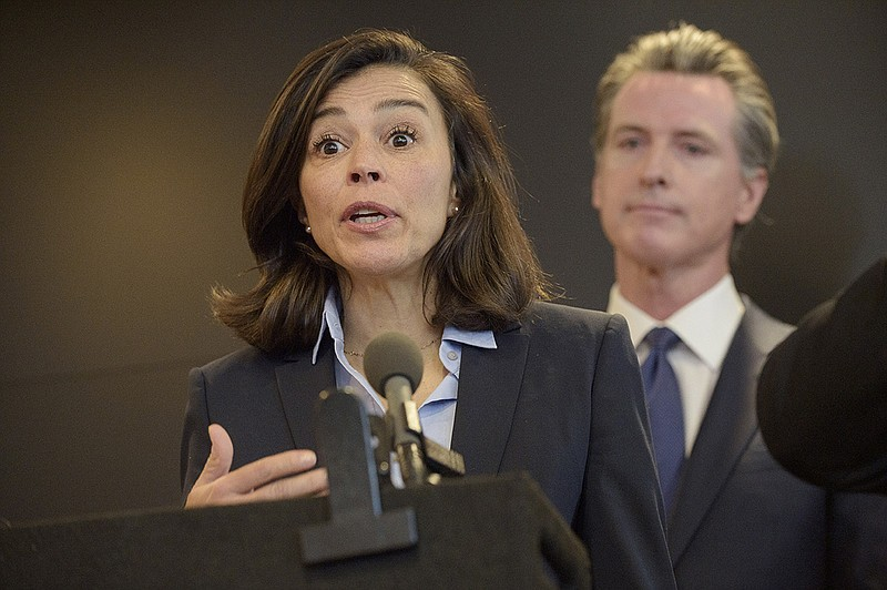In this Feb. 27, 2020, file photo, California Department of Public Health Dir...