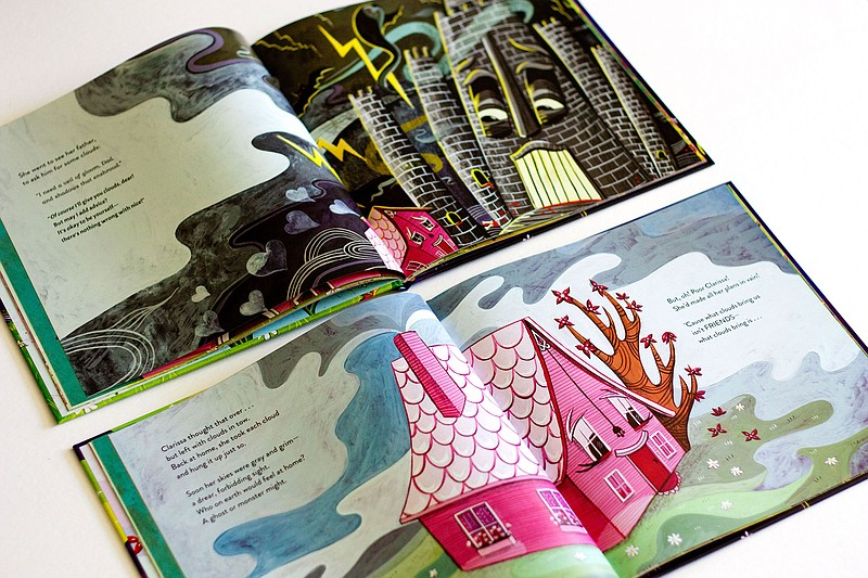 Interior pages of the picture book
