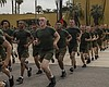 The new Marines of Delta Company, 1st Recruit T...