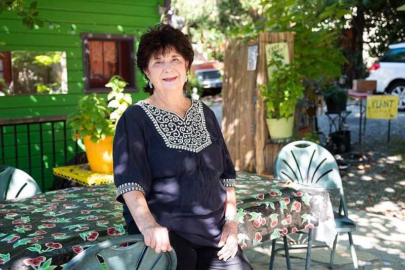 Rosemarie Reeder at her home in Grass Valley Friday, July 31, 2020. She helpe...