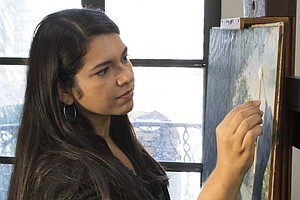Photo for Local Art Conservators To Preserve Protest Art
