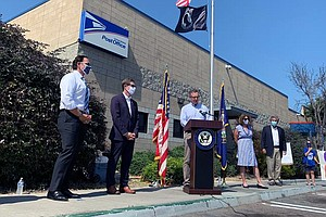Photo for San Diego Leaders Rally For United States Postal Service